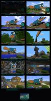 Minecraft Perry the Platypus by ine-rocks