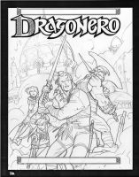 Prova Cover02cover sketch for Dragonero #0 by GiuseppeMatteoni