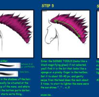 fantasy Horse mane Tutorial + by RAGNAponik