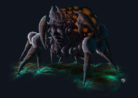 Queen of Spiders by Nerkin