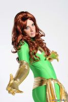 Green Phoenix by pgmorin