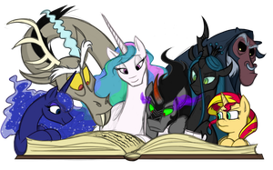 Story Time by DubstepPegasister