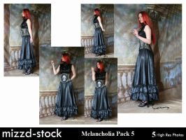 Melancholia Pack 5 by mizzd-stock