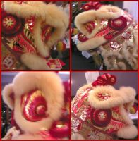 Lion Dancing by Johnny-Johnson