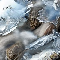 Frozen Creek by Stridsberg