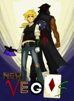 New Vegas: The 2 Couriers by linistic