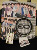 EXO Tote Bag and Playing Card Deck by SquishyPandaPower