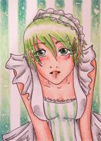 Apple (ACEO 29) by Naousuke