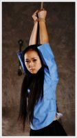 HJ May Fourth Student (03) Hands Tied Above Head by D-ZHANG-PHOTOGRAPHY