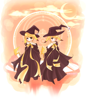 Night of Witches: Pikachu by Citron-Ami