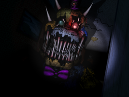 FNAF- Again you ? Not really by Christian2099