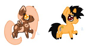 Pony Adopts ~ Batch One by Miss-Catstacks