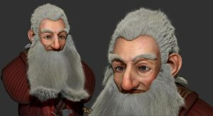Balin Son of Fundin Bust by Floreum