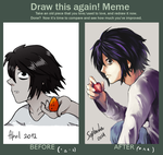 Meme: Before and After - L by Shutwig