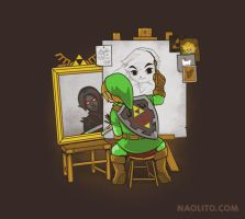 Heroic Self Portrait by Naolito