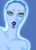 Koree [Asari] by xXVSilverPhoenixVXx