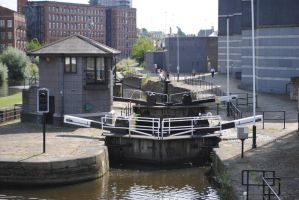Canal Lock by alanhay