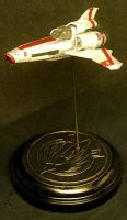 Adama's Viper by Roguewing