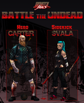 SkratchJams Battle The Undead | Carter and Svala by UltimateTattts