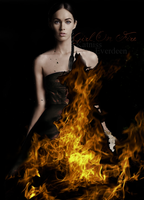 Girl On Fire by wonderfullily