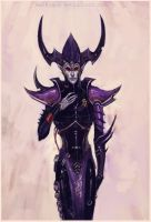 Dark Eldar: Lord Ayperos by Beckjann