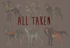 HALLOWEEN adopts (closed) by smokeplanet