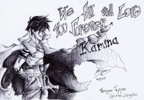 We'll love you forever Kamina by TwinXion