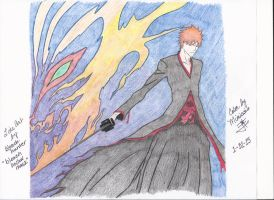 Bleach-hollow-mask-color by Mimissis