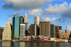 Manhattan NY City by Doumanis
