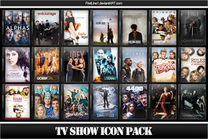 TV Show Icon Pack 7 by FirstLine1