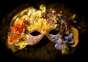 Carnival Queen Mask -Sold by Beadazzlebyjill