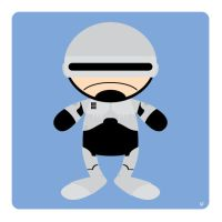 robocop by striffle
