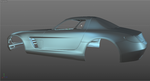 Mercedes-Benz SLS AMG WIP 02 by SonicBlue555