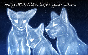 May StarClan Light your path... by IzziTheEpic19