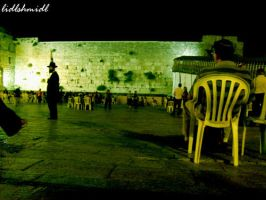 The Western Wall of Jerusalem by lidlshmidl