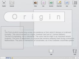 Origin Desktop by dazzla