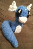 Amigurumi Dratini by DuctileCreations