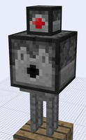 Minecraft Mob Ideas - Stone Golem by RedPanda7