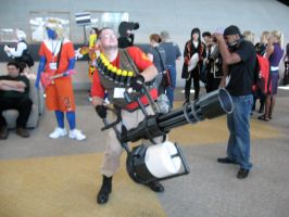 Team Fortress Two Heavy by AngstyGuy