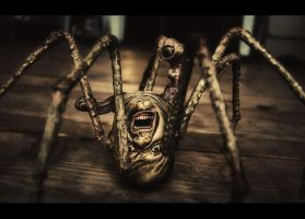 Spider head by Peterix