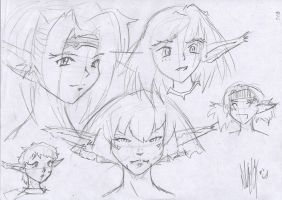 Outlaw Star - Random Ctarl heads 004 by Groovechamp-Slappy