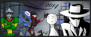 2014 by fakefrogs