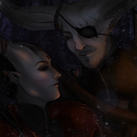 DAI: Winter's Breath {Iron Bull/Adaar} by LadyTheirin