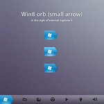 Win8 orb 'small arrow' by ap-graphik