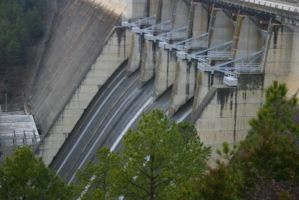 Greer's Ferry Dam by Etherious