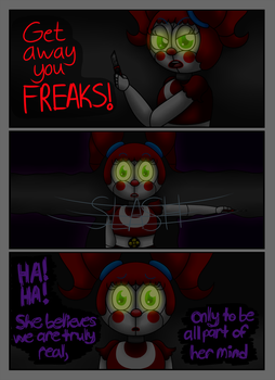 FNAF SL Comic: A Animatronic's Demise Pg 19 by superpinkygirl101
