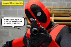 Deadpool Plays Too Much Call of Duty by SnuffBomb