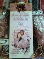 the finished wedding invitation:1 by dindaseh