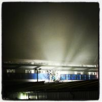 East Croydon Station Extension in the night by Rodimus80