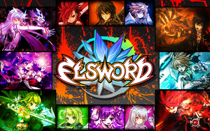 Elsword 3rd classes wall by dragoonbb